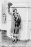 Gertrude Ederle returns home to New York after swimming the Channel, 1926 Photographic Print by George Grantham Bain