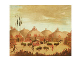 The Bull Dance Giclee Print by George Catlin