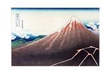 Sanka Haku from 36 views of Mount Fuji, pub. c.1890 Giclee Print by Katsushika Hokusai