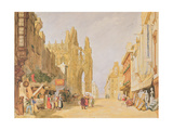 The High Street at Alencon Giclee Print by John Sell Cotman