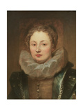 Portrait of a noblewoman Giclee Print by Sir Anthony van Dyck