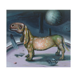 Carnival Dog, 1998 Giclee Print by Chris Gollon