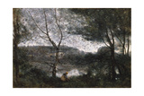 Ville d'Avray, 1870 Giclee Print by Jean Baptiste Camille Corot
