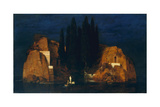 Isle of the Dead, second version, 1880 Giclee Print by Arnold Bocklin