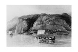 North Shore of Great Slave Lake, 1833 Giclee Print by George Back