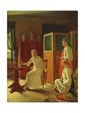 Morning of the Lady of the the Manor, 1823 Giclee Print by Aleksei Gavrilovich Venetsianov