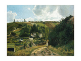 Jalais Hill at Pontoise, 1867 Giclee Print by Camille Pissarro