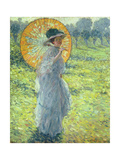 Woman with a Parasol, c. 1906 Giclee Print by Frederick Carl Frieseke