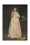 Young lady in 1866 Giclee Print by Edouard Manet