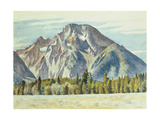 Mount Moran, 1946 Giclee Print by Edward Hopper