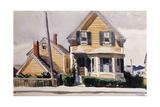 The Yellow House, 1923 Reproduction procédé giclée par Edward Hopper
