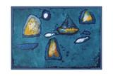 Night Voyage, 1998 Giclee Print by Peter Davidson