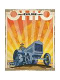 Explore Ohio Giclee Print
