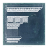 Capital Blueprint IV Giclee Print by Vision Studio