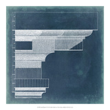 Capital Blueprint VI Giclee Print by Vision Studio