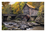The Mill & Creek I Giclee Print by Danny Head