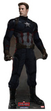 Captain America No Mask - Captain America: Civil War Cardboard Cutouts
