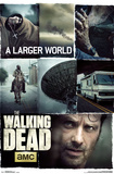 Walking Dead- Larger World Collage Posters