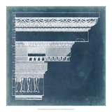 Capital Blueprint II Giclee Print by Vision Studio