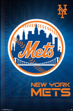 New York Mets- Logo 2016 Posters