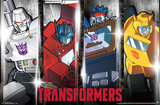 Transformers- Classic Heroes & Villians Poster