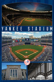 New York Yankees- Stadium 2016 Print by Connie Haley