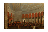 The House of Representatives, c.1822 Giclee Print by Samuel Finley Breese Morse