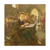 In the Classroom Giclee Print by J. Harris