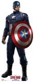 Captain America - Captain America: Civil War Cardboard Cutouts