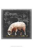 Chalkboard Farm Animals IV Posters by  Redstreake