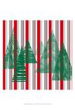 Oh Christmas Tree IV Prints by Sharon Gordon