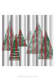 Oh Christmas Tree II Art by Sharon Gordon