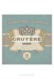 Nouveau Chevre III Print by June Vess