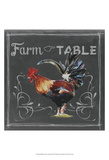 Chalkboard Farm Animals III Art by  Redstreake