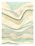 Ocean Cascade II Giclee Print by Vanna Lam
