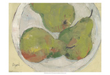 Plate with Pear Posters by Samuel Dixon