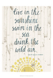 Sun Quote IV Prints by Grace Popp