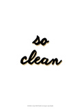 So Clean Print by Anna Hambly