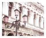 Venice Pink Lanterns I Prints by Sonja Quintero