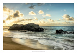 Sunset at Lumahai Beach Giclee Print by Danny Head