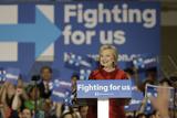 DEM 2016 Clinton Photographic Print by Pat Sullivan