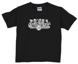 Toddler: Dirty Heads- Skeleton Band T-shirts