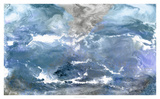 Glacial View Giclee Print by Pam Ilosky