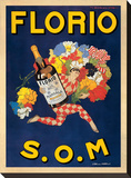 Florio, 1915 Stretched Canvas Print by Marcello Dudovich