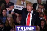 GOP 2016 Trump Photographic Print by Marcio Jose Sanchez