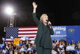 DEM 2016 Clinton Photographic Print by John Locher