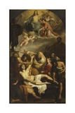 Martyrdom of St. Lawrence Giclee Print by Francesco Podesti