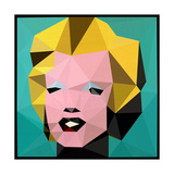 Icon Marilyn Photographic Print by Enrico Varrasso