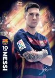 Barcelona Messi 15/16 Plakater