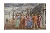 Tribute Money, 1425-27 Giclée-tryk af Masaccio